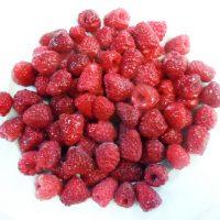 Frozen whole raspberries 1kg