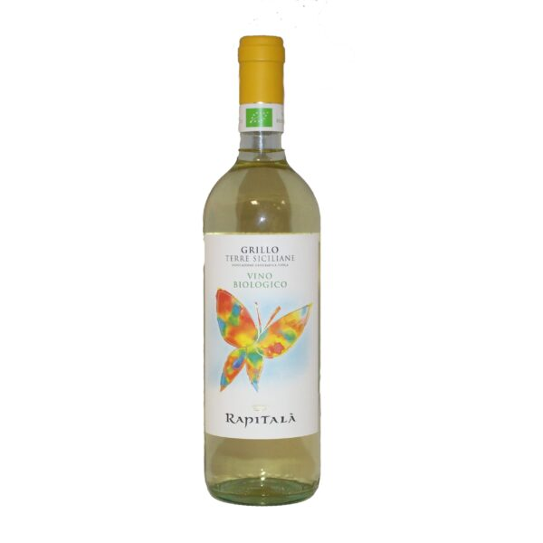 Grillo Terre Siciliane IGT Organic Wine