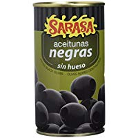 Pitted black olives 350 grams