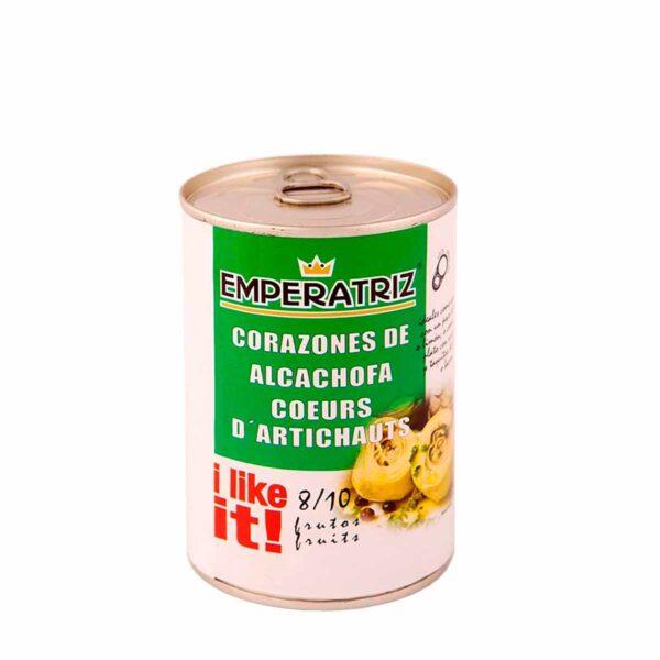 Artichoke hearts 390 grams.