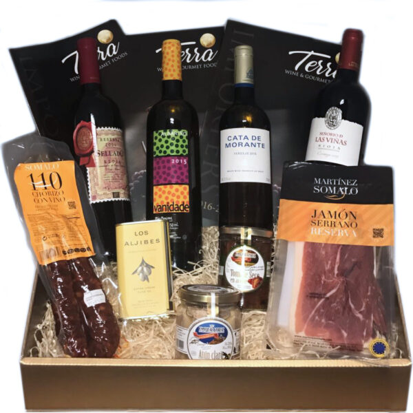 Spanish Wine and Gourmet Hamper