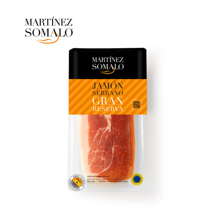 Sliced Serrano Ham Gran Reserva 500 grams