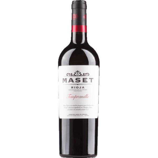 Rioja Maset. Spanish red Tempranillo.