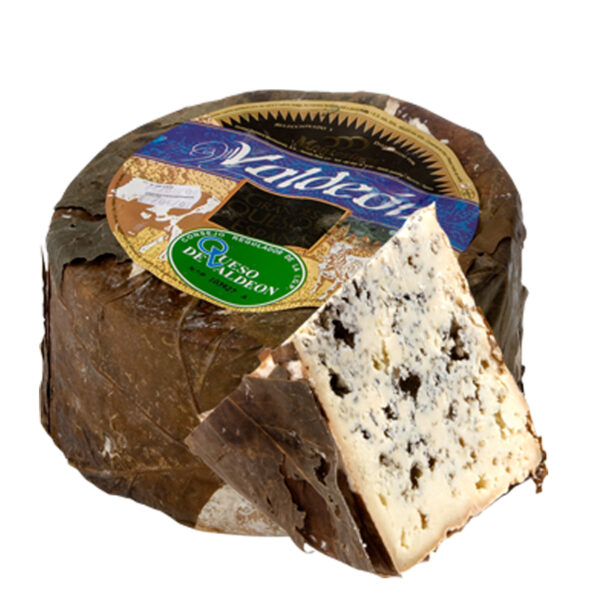 Valdeon Blue Cheese (Goat and Cow's milk) 3kg approx